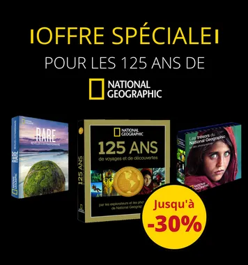 Sélection 125 ans de National Geographic