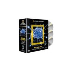 Coffret 3 DVD NG Brain games - 34€
