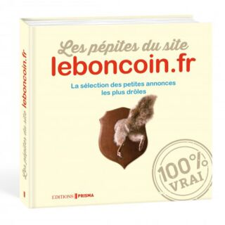 Livre Les pépites du site leboncoin.fr - 9.95€