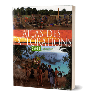 LIVRE - ATLAS DES EXPLORATIONS GEO JEUNESSE 19.50E CPT