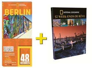 OFFRE DUO NGE LIVRE 48 HEURES BERLIN + 52 WEEK END DE RÊVE 25€