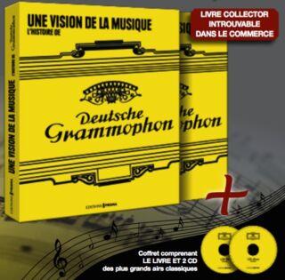 LIVRE - COFFRET DEUTSCHE GRAMMAPHON 59.90E PMT CPT