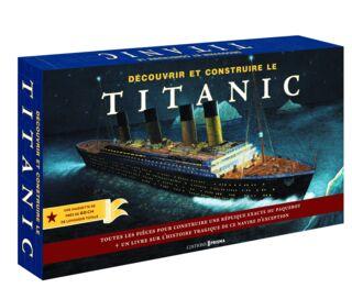 Découvrir et contruire le Titanic - 35€ PMT CPT