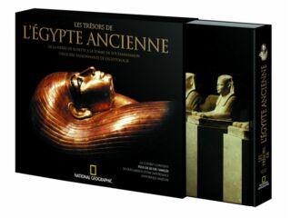 LIVRE - LES TRESORS DE L EGYPTE ANCIENNE  37.90E