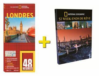 OFFRE DUO NGE LIVRE 48 HEURES LONDRES + 52 WEEK END DE RÊVE 25€