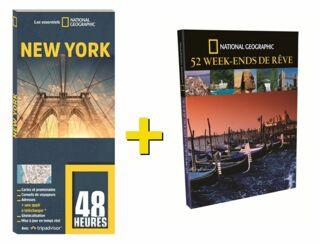 OFFRE DUO NGE LIVRE 48 HEURES NEW YORK + 52 WEEK END DE RÊVE 25€