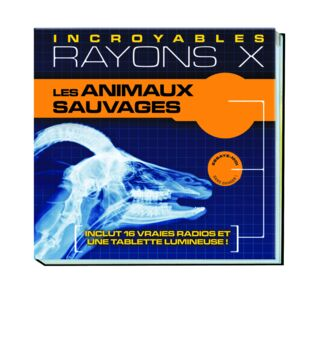 Rayons X - animaux sauvages - 22.95€