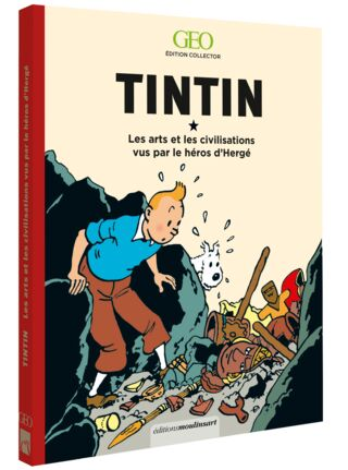 Livre GEO Tintin arts et civilisations - 29.95€