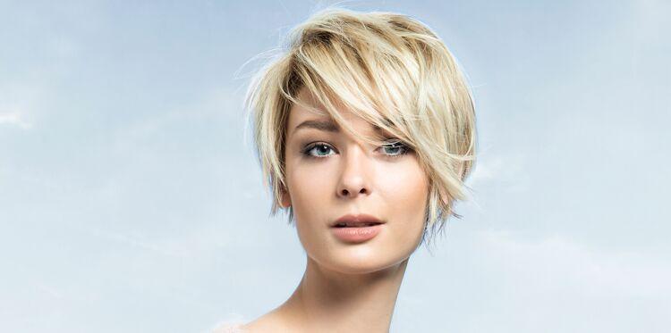 Coupe courte  25 idées spécial cheveux fins  Femme
