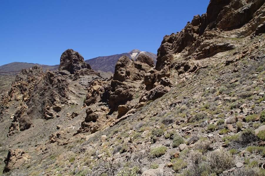Le Parc national du Teide sur l'île de Tenerife