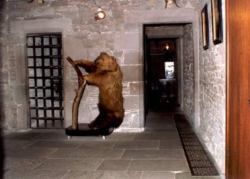 Pièce cachée du Glamis Castle