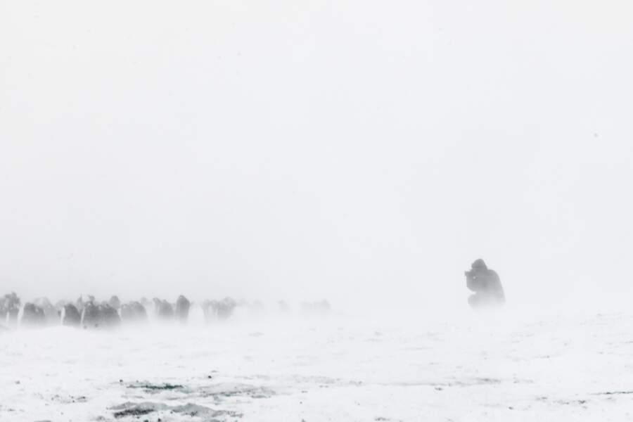 Séance photo au coeur de la tempête