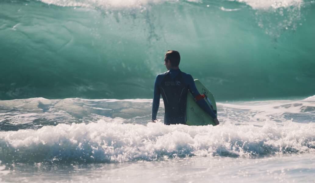 """Les vagues de bord ou """"Shorebreak"""""""