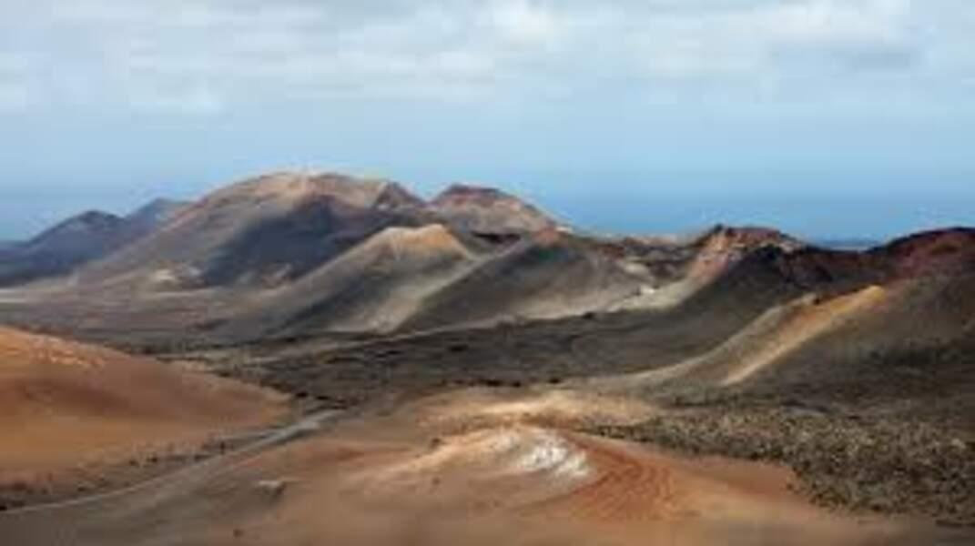 Le parc national de Timanfaya sur l'île de Lanzarote