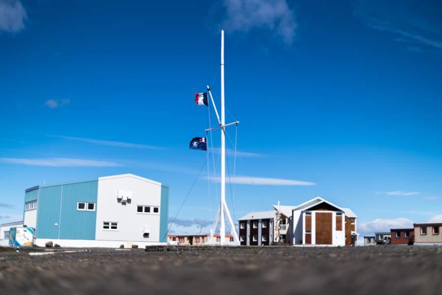 La base scientifique des Îles Kerguelen