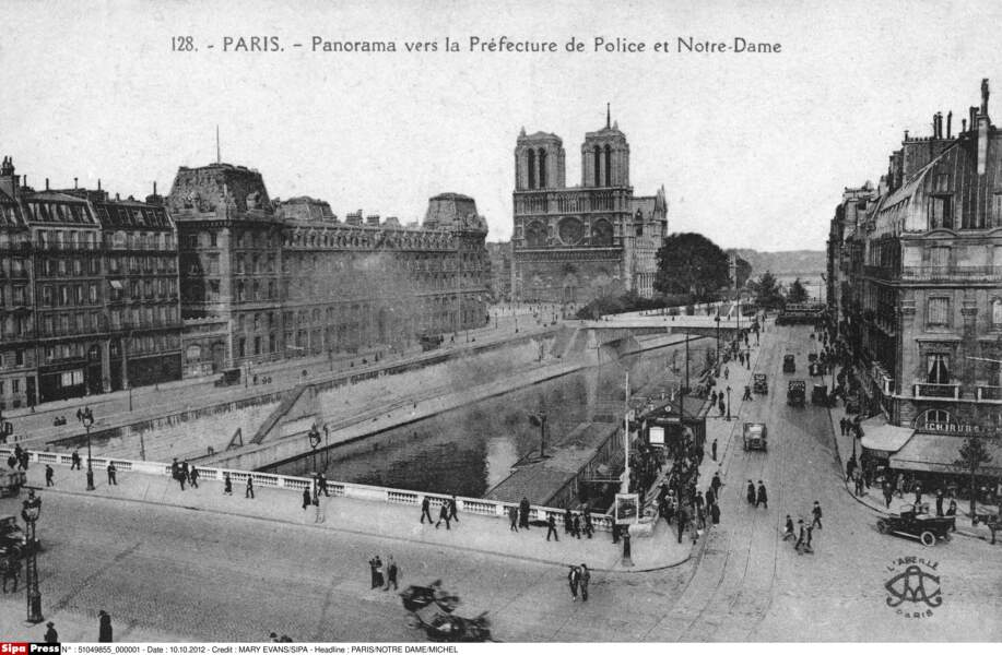 Notre-Dame en 1914