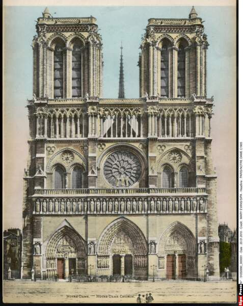 Notre-Dame en 1905