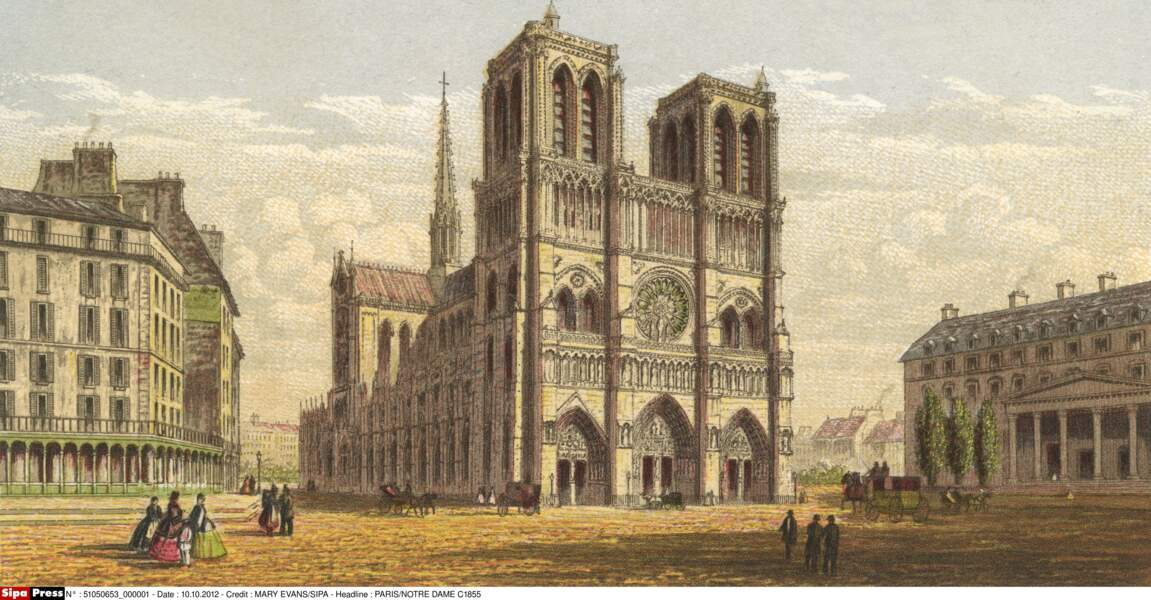 Notre-Dame en 1855
