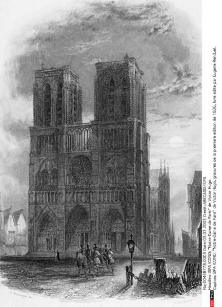 Notre-Dame en 1836