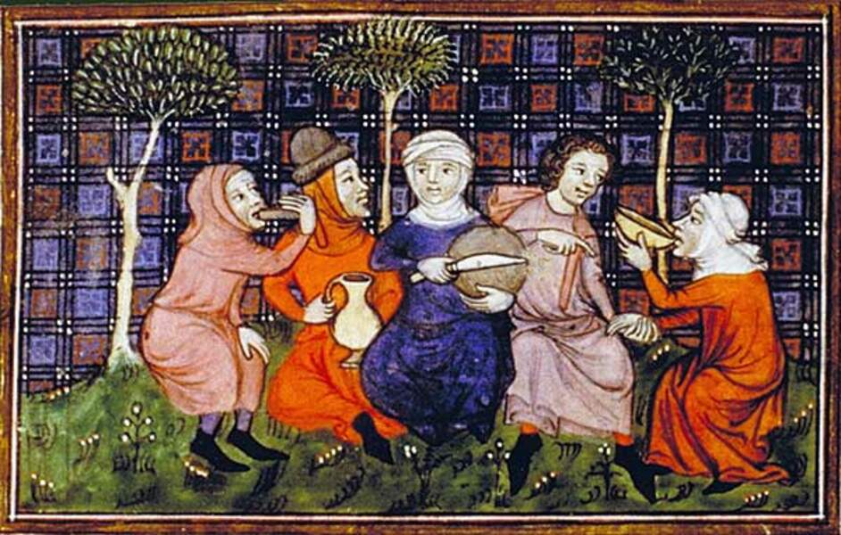 Le vin d'Hypocras (Moyen Âge, Europe)