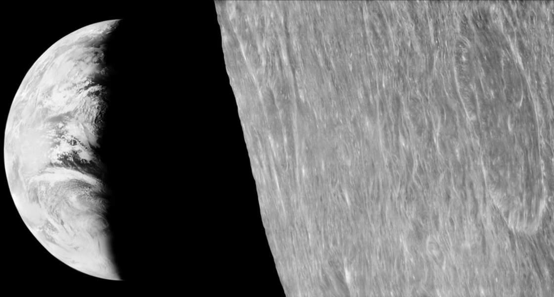 5. La première photo de la Terre depuis la Lune