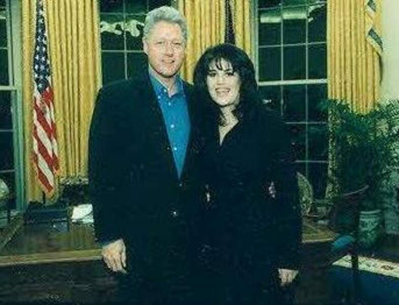 1998 : le « Monica gate » fait vaciller Bill Clinton