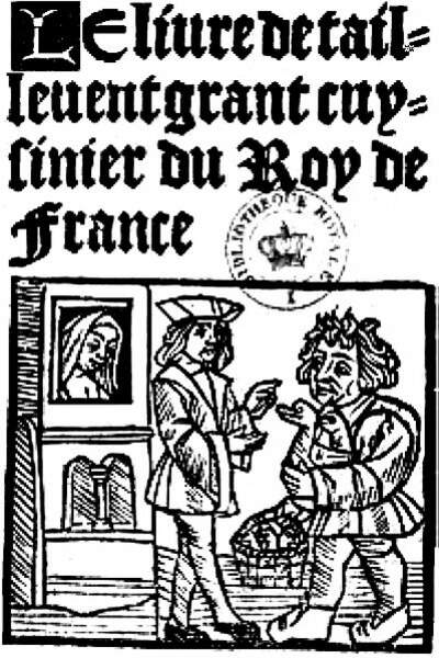 La sauce bleue céleste (Moyen Âge, France)