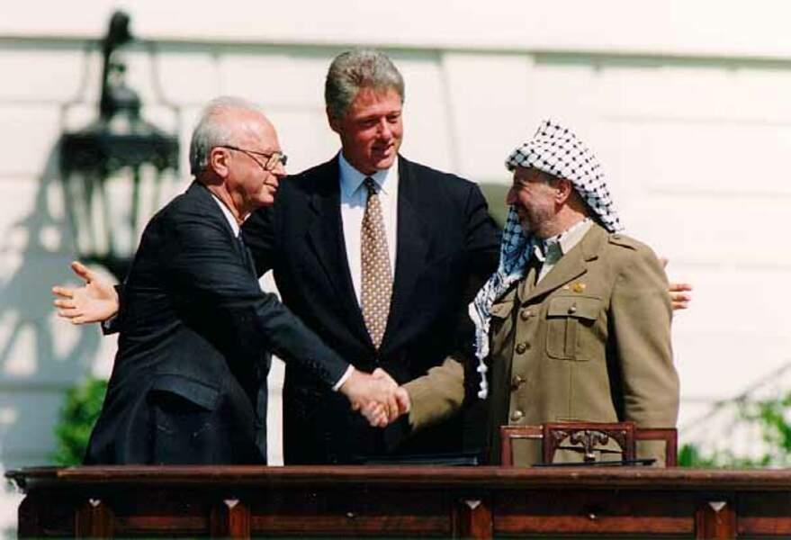 6. Rabin et Arafat : espoir de paix au Proche-Orient