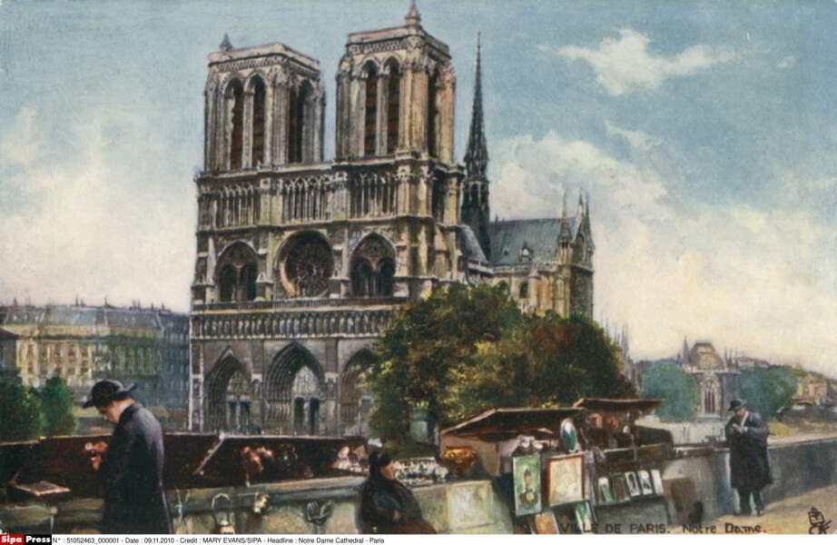 Notre-Dame en 1906