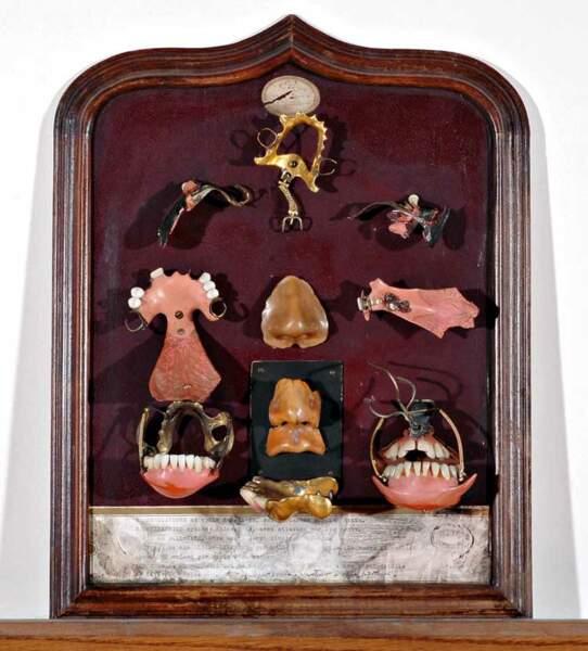 Vers 1900 — Le tableau de chasse d'un stomato