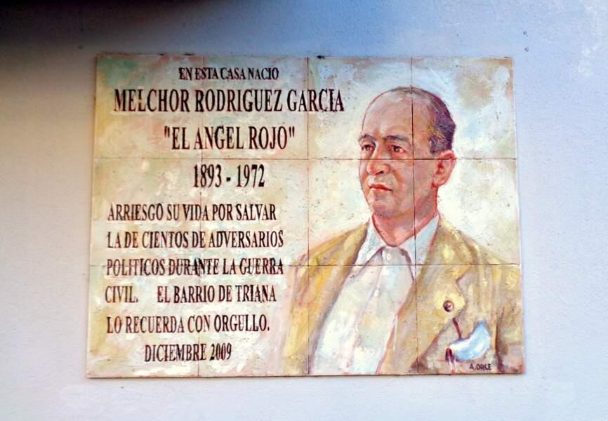 Melchor Rodríguez García, l' « ange rouge »