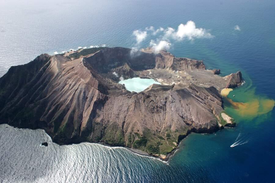 White Island en Nouvelle-Zélande