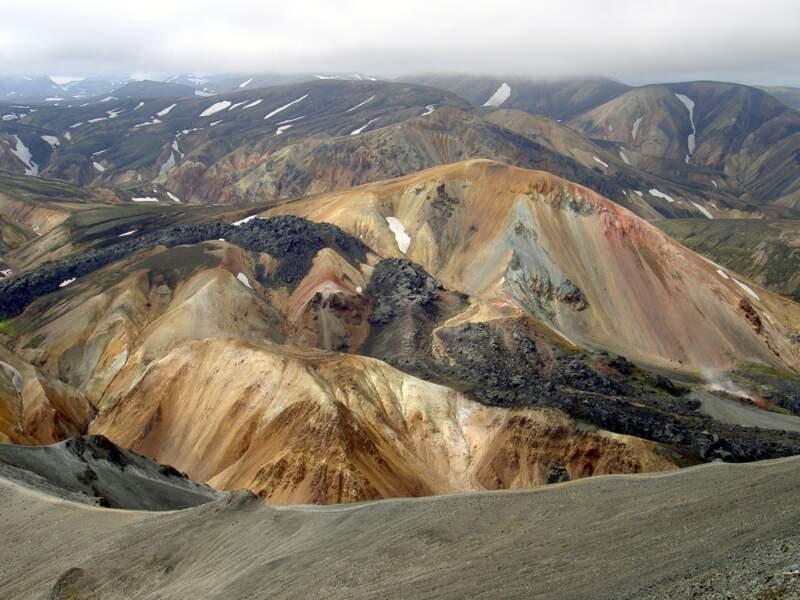 Le Landmannalaugar en Islande