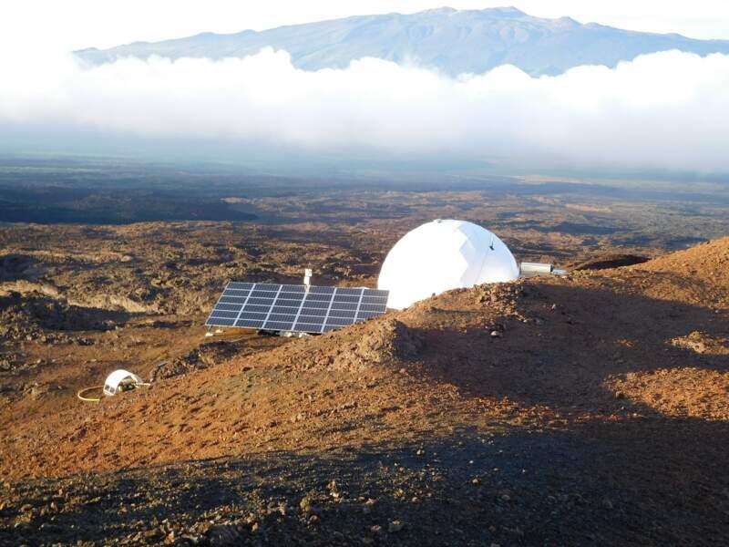 Un habitat à la martienne
