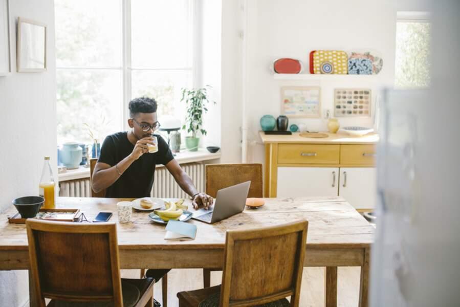 4 - Conserver le même rythme de travail