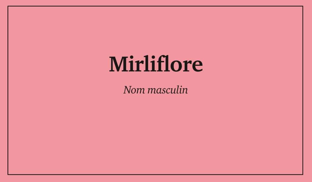 Mirliflore