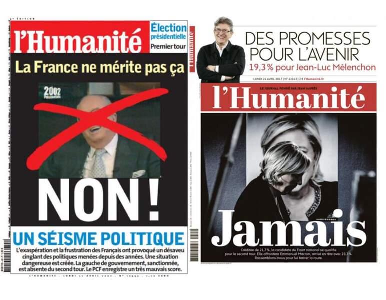 """L'Huma : """"Non"""" ou """"Jamais"""", l'un des rares journaux a avoir conservé sa ligne en 15 ans"""