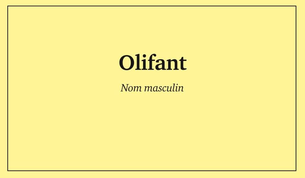 Olifant (ou oliphant)
