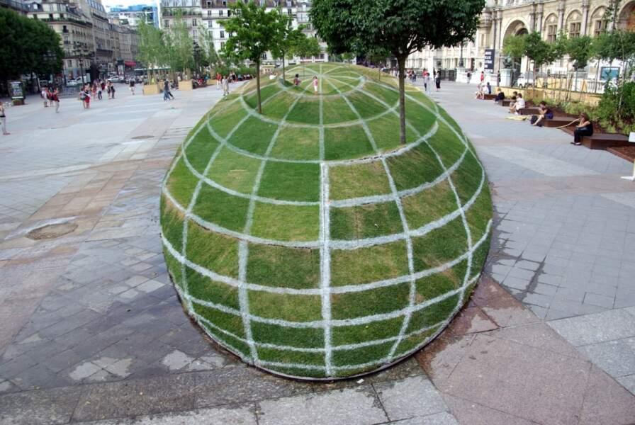 Illusion d'optique : la terre n'est pas ronde