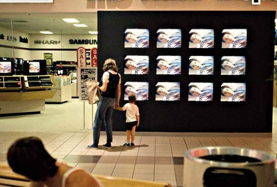 Le mur d'écrans