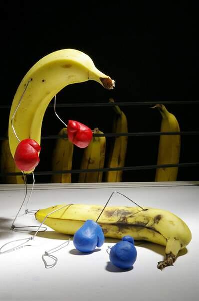La banane a du punch