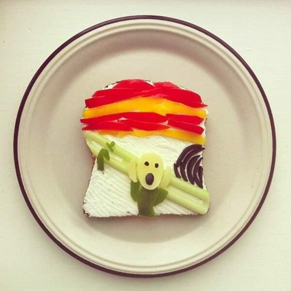 Le cri version toast