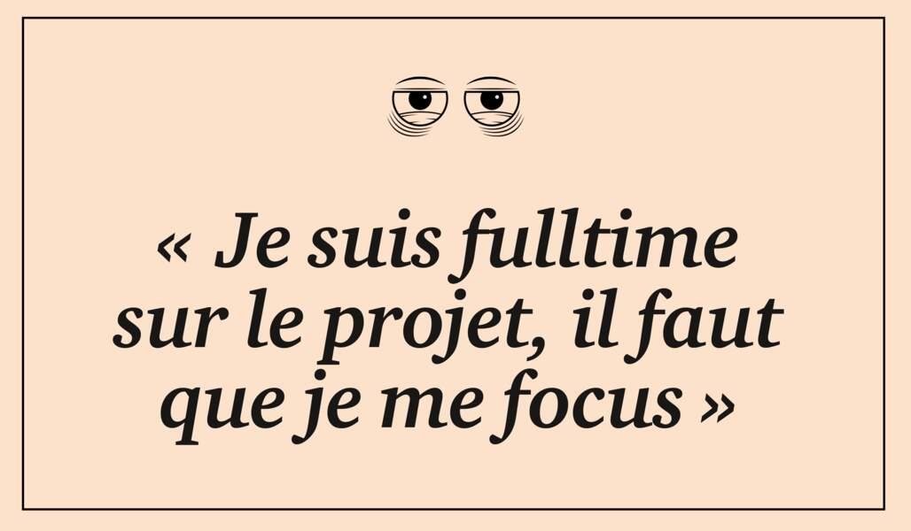 Fulltime, focus, next step…