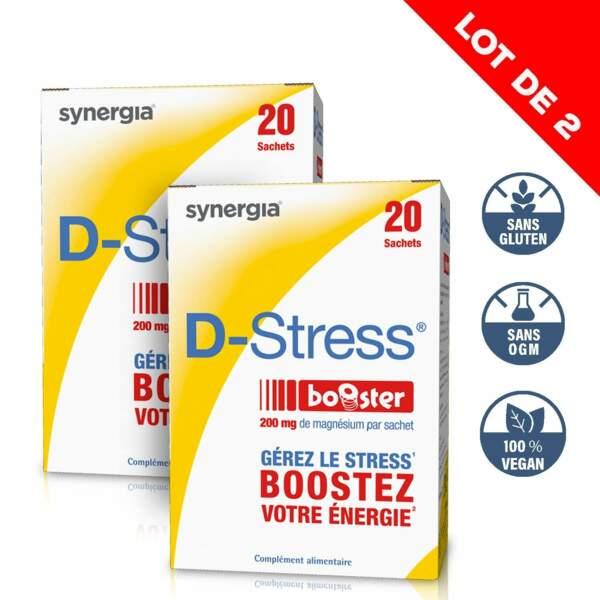 Le booster vitamines et magnésium