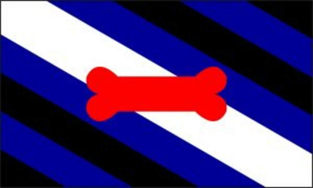 Le drapeau puppy