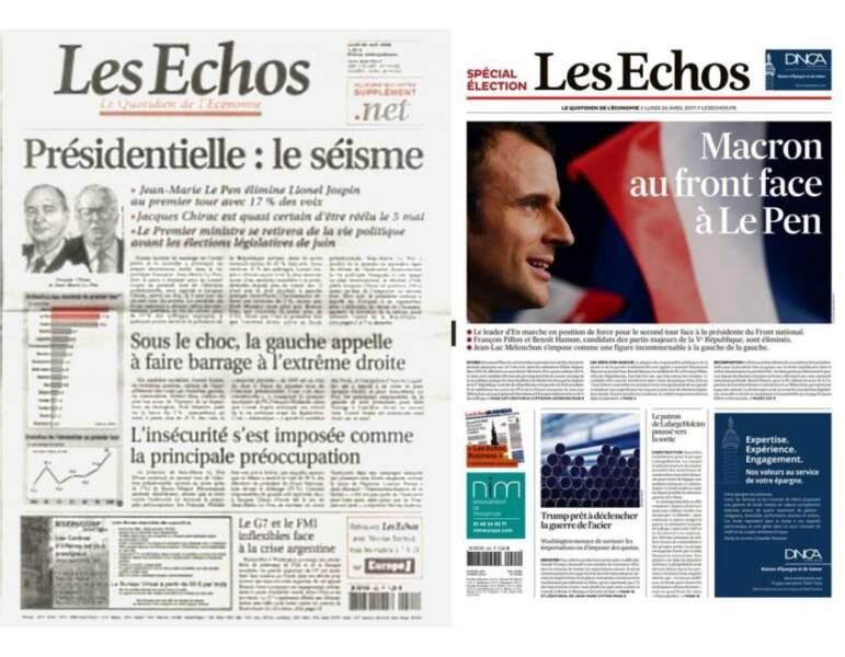 """Les Echos : Fini le """"séisme"""""""