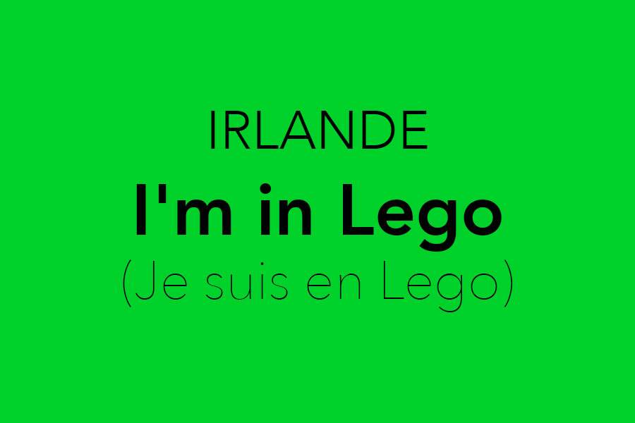 I'm in Lego