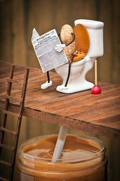 Oui, c'est comme ça qu'on fait du beurre de cacahuète