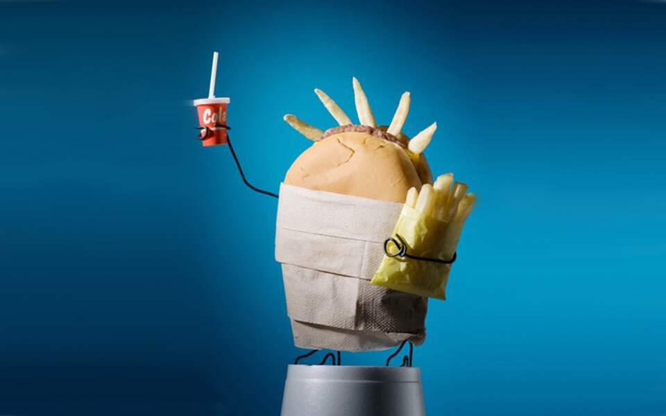 Le hamburger de la liberté