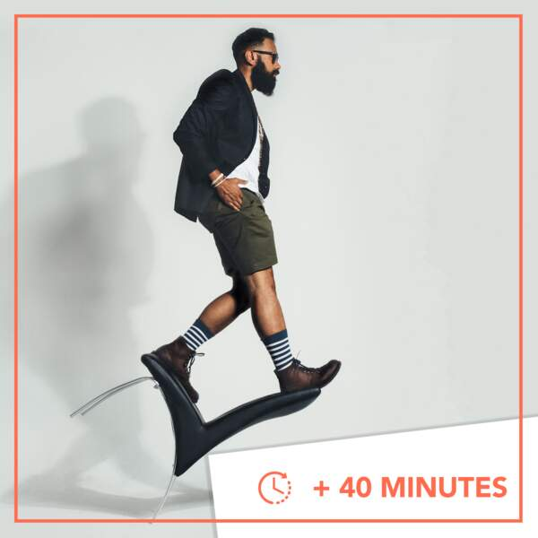 + 40 minutes • Overbooké